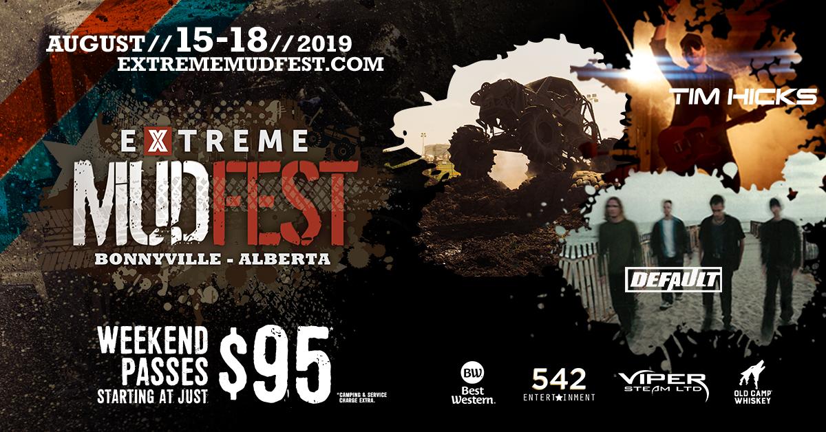 Tickets Extreme Mudfest 2019 Bonnyville Alberta